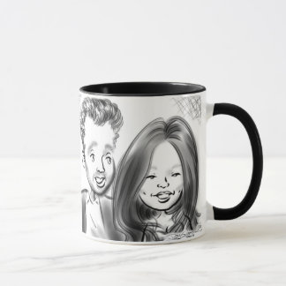 Central Park-Gala Caricatures 13b Tasse