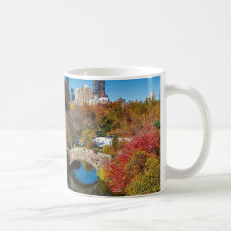 Central Park im Herbstlaub New York Kaffeetasse