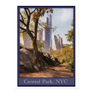 Central Park, NYC Postkarte