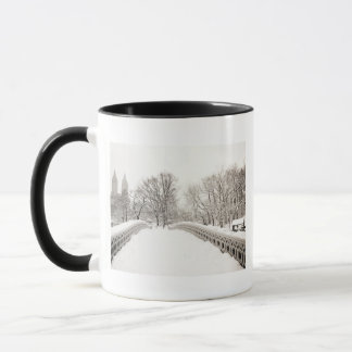 Central Park-Winter Romance - Bogen-Brücke Tasse
