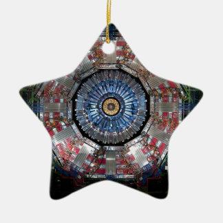 CERN Shiva LHC Keramik Stern-Ornament