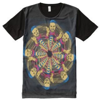 Certitudonously! T-Shirt Mit Komplett Bedruckbarer Vorderseite