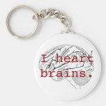 Cerveaux du coeur I Porte-clef