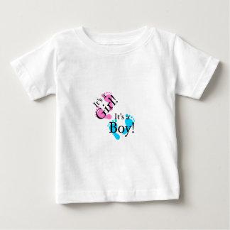 C'est un garçon que c'est une fille - bébé t-shirts