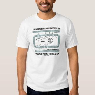 Cette machine actionnée par phosphorylation t shirts