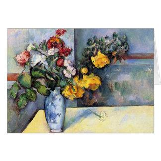 Cezanne Kunst-Gruß-Karten Karte