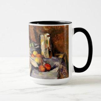 Cezanne - Stillleben, Posten, Flasche, Schale und Tasse