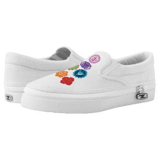 Chakra kundenspezifischer Zipz Beleg auf Schuhen Slip-On Sneaker