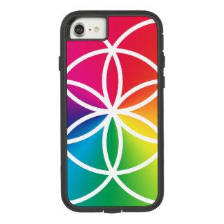 Chakras Regenbogen-Samen des Leben-Symbols Case-Mate Tough Extreme iPhone 8/7 Hülle