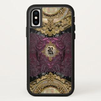 Chalchadoriz Eleganz-Girly cooles Monogramm plus iPhone X Hülle