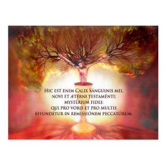 Chalice von Christus Postkarte