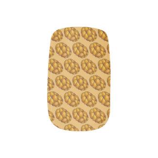 Challah-Brot-jüdischer Feiertag Chanukka Chanukah Minx Nagelkunst