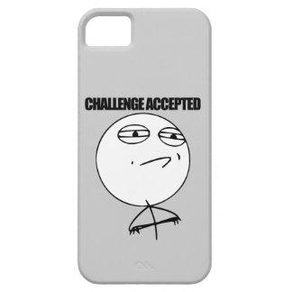Challenge accepted schutzhülle fürs iPhone 5