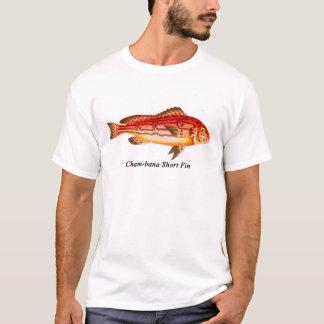 Cham--banakurzes Flossen-T-Shirt T-Shirt