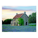 Chambre de Bluebonnet, automnes de marbre, TX Carte Postale