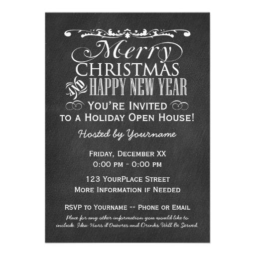 Chambre ouverte de vacances vintages de tableau invitations