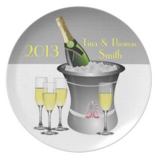 Champagne-Feier-Platte Essteller