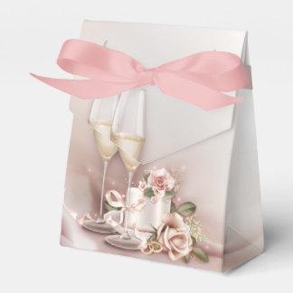 Champagne-Hochzeit Geschenkschachteln