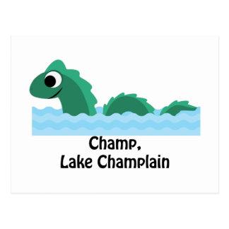 Champion, See Champlain Postkarte