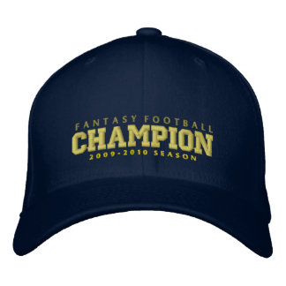 Champions des Fantasie-Fußball-2009-2010 Bestickte Kappe