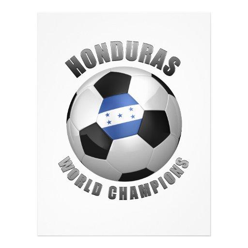 CHAMPIONS DU FOOTBALL DU HONDURAS TRACT