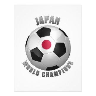 CHAMPIONS DU FOOTBALL DU JAPON PROSPECTUS EN COULEUR