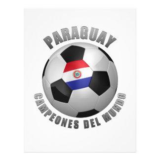 CHAMPIONS DU FOOTBALL DU PARAGUAY PROSPECTUS PERSONNALISÉS