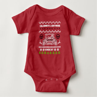 Chandail de mauvais goût de bébé de vacances de tshirts