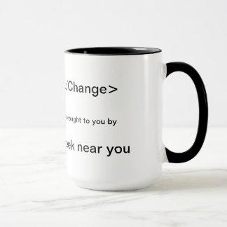 </Change> vorbei geholt einem Aussenseiter nahe Tasse