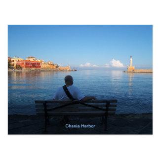 Chania Leuchtturm-Postkarte Postkarten
