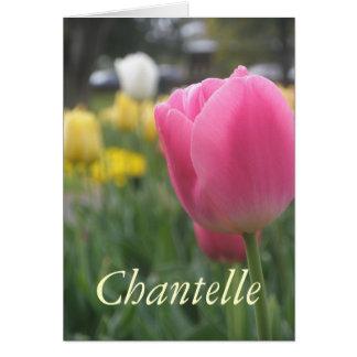 Chantelle Grußkarte