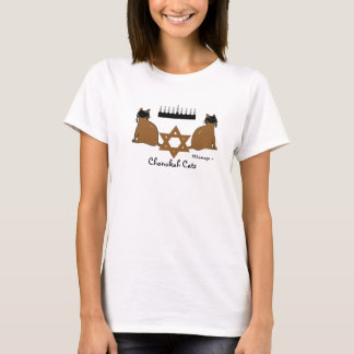 Chanukah Katzen-T - Shirt
