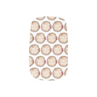 Chanukka-Gelee-Krapfen Sufganiyot Chanukah Krapfen Minx Nagelkunst