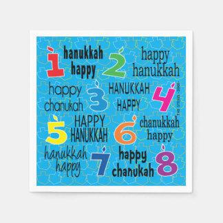Chanukka-Serviette personifizieren Papierserviette