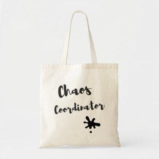Chaos-Koordinator Budget Stoffbeutel