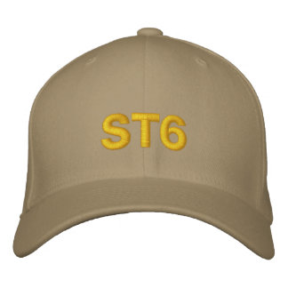 Chapeau brodé par ST6