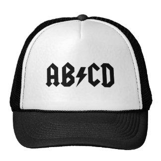 Chapeau de camionneur d'ABCD Casquettes De Camionneur