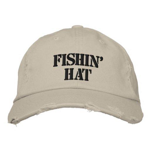 Chapeau de Fishin Chapeaux Brodés