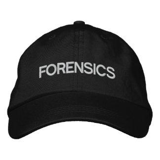 Chapeau de médecines légales casquette de baseball brodée