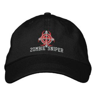 Chapeau de tireur isolé de zombi (brodé) casquettes brodées