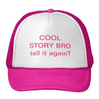 Chapeau frais de Bro d'histoire Casquette Trucker