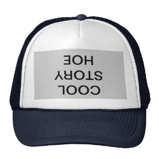 Chapeau frais de houe d'histoire casquettes de camionneur