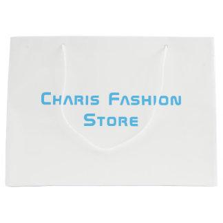 Charis Mode-Speicher - Marken-Geschenk-Tasche Große Geschenktüte