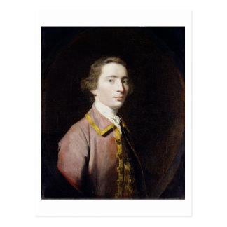 Charles Carroll von Carrollton, c.1763 (Öl auf Postkarte