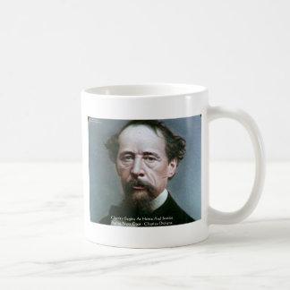 """Charles Dickens""""Wohltätigkeit @Home"""" Kaffeetasse"""