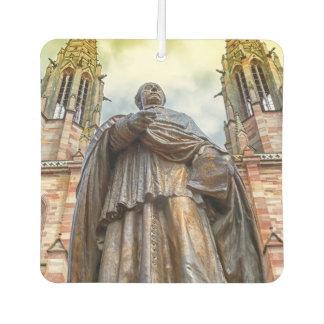 Charles-Emile Freppel Statue, Obernai, Frankreich Lufterfrischer