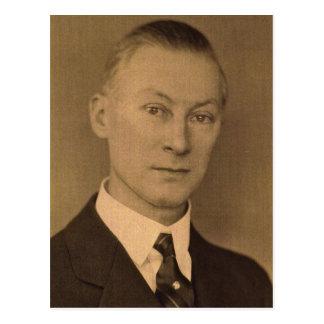 Charles Franklin ZARFOS des roten Löwes, Postkarte