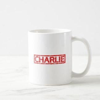 Charlie-Briefmarke Kaffeetasse