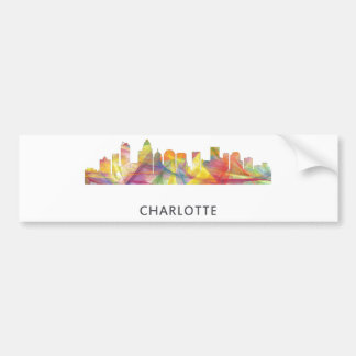 CHARLOTTE NC WB1 - AUTOAUFKLEBER