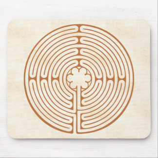 Chartres-Labyrinth Mauspad